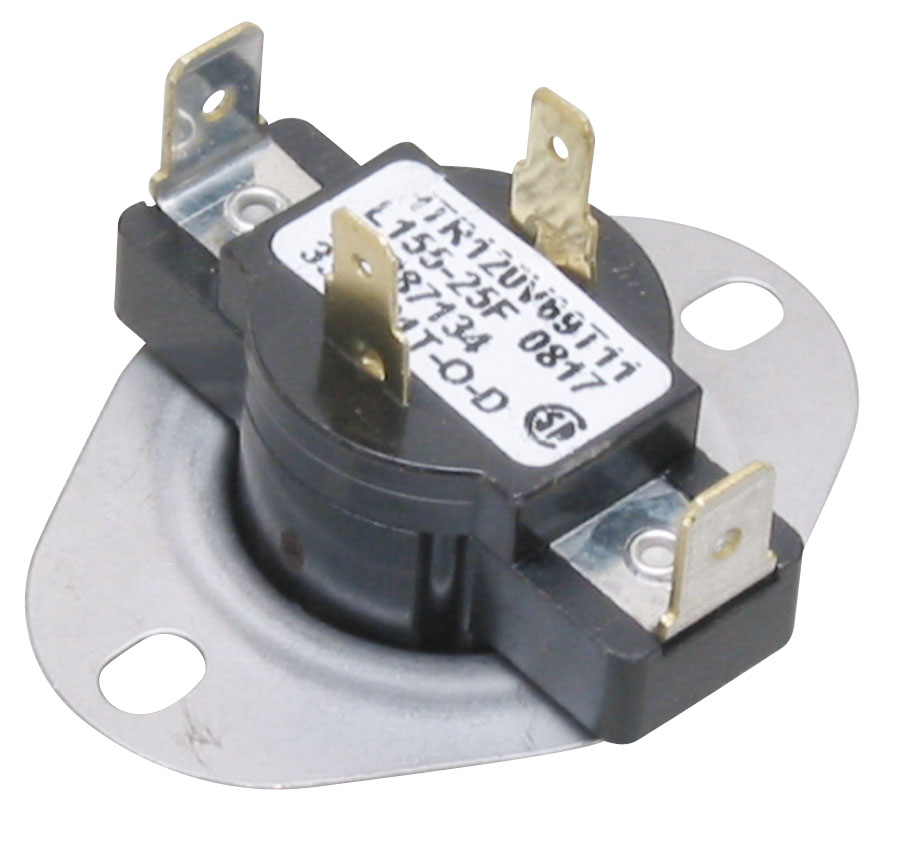 Order 3387134 Whirlpool Clothes Dryer Cycling Thermostat