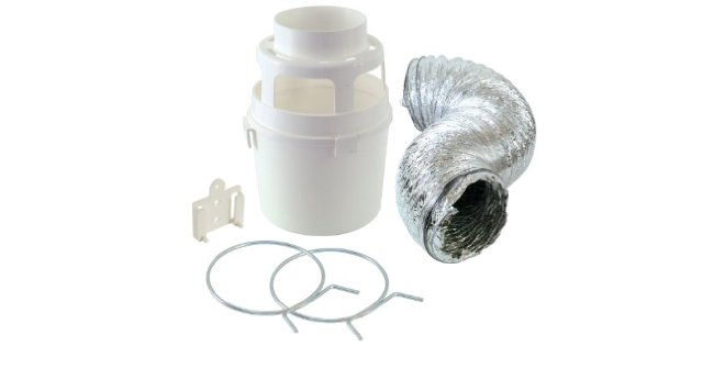 Indoor Dryer Lint Trap Vent Kit Replacement