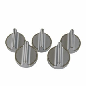 5 Pack Range Surface Burner Knob Replacement